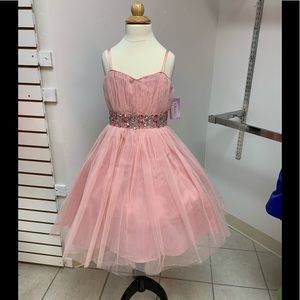 8 Easter Pageant Flowergirl Tea Party Dress NWT